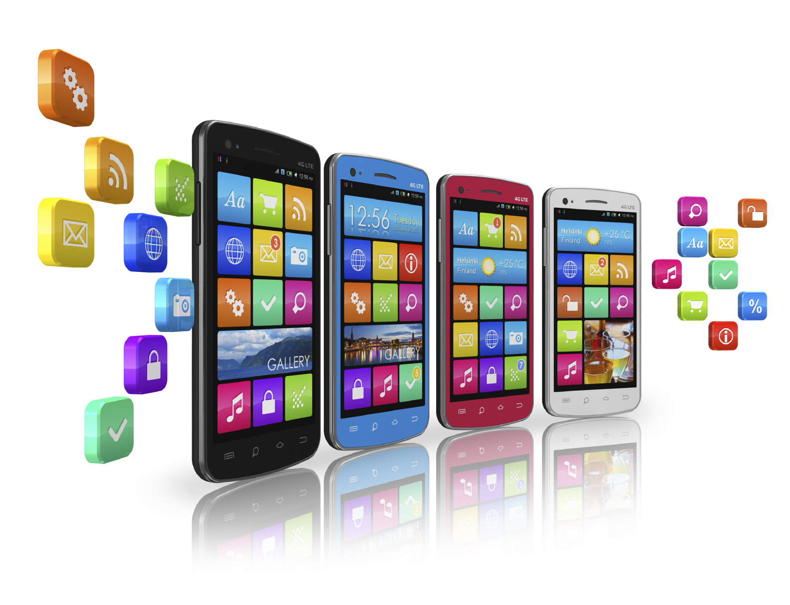 Applications mobiles KBInformatique (Windows , Android, IOS)